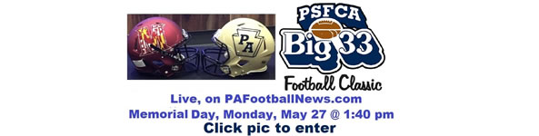 Watch PA Football News coverage of the Big 33 Game